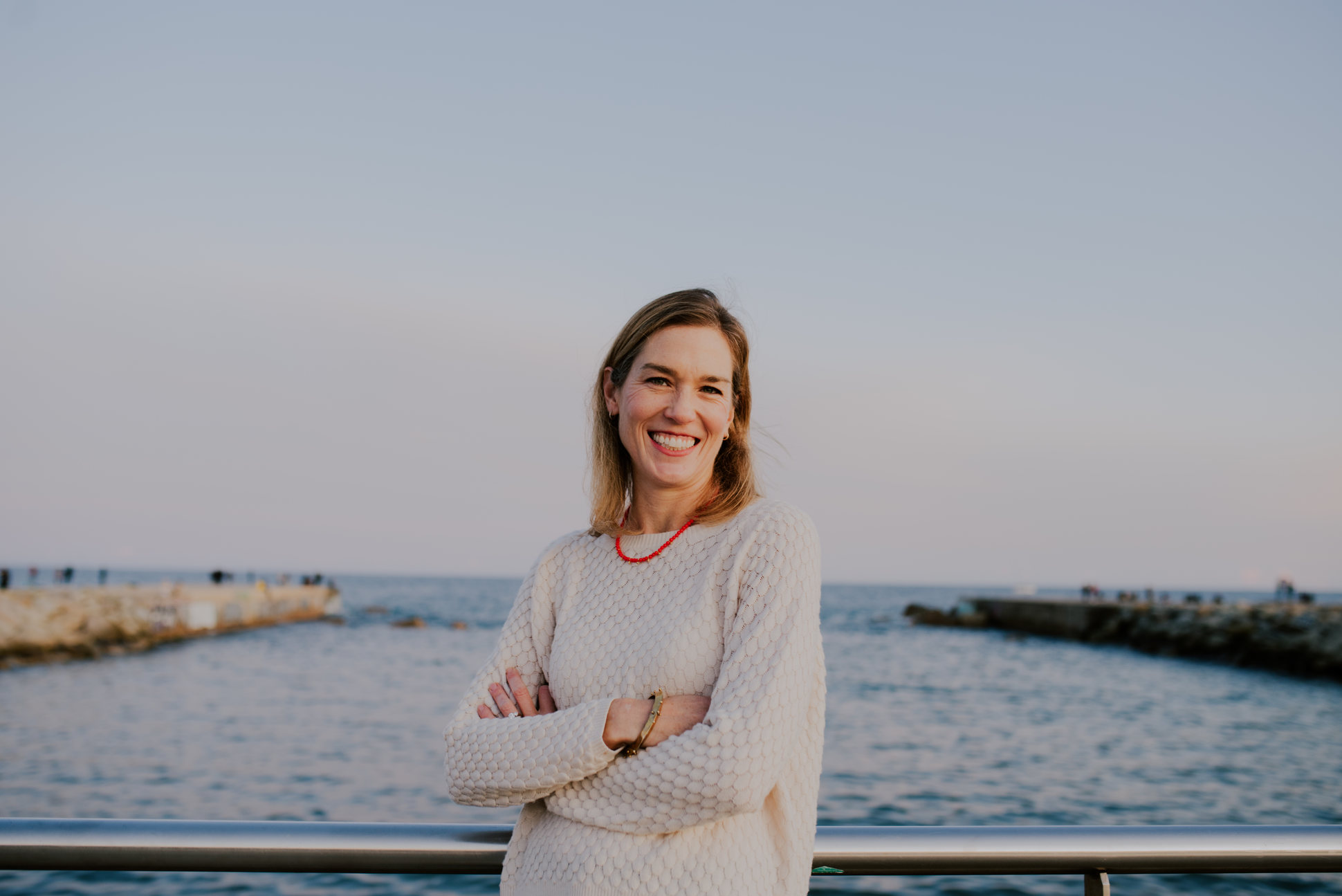 Amy Harris Barceloneta Beach
